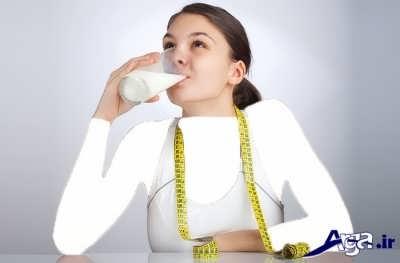 رژیم مفید و تاثیر گذار شیر برای کاهش وزن