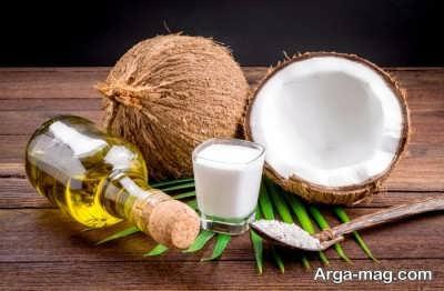 روغن نارگیل یکی از روش های درمان قارچ پوستی