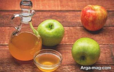 سرکه سیب در درمان قرمزی چشم