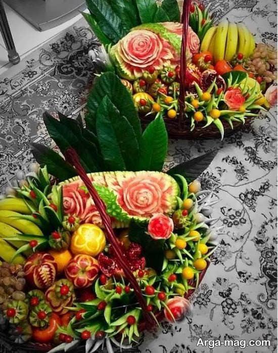 تزیین میوه برای عید نوروز