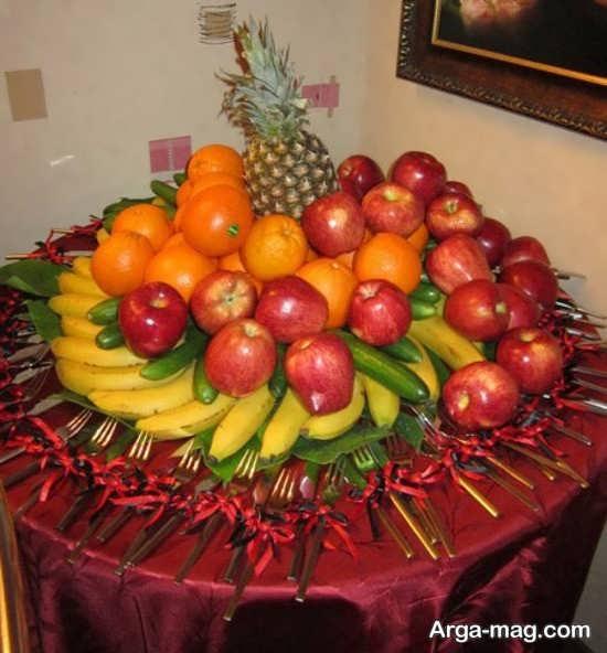 تزیین زیبای میوه عید نوروز