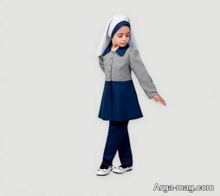 School uniforms model 11 - طرح های زیبا و شیک برای مدل مانتو فرم مدارس