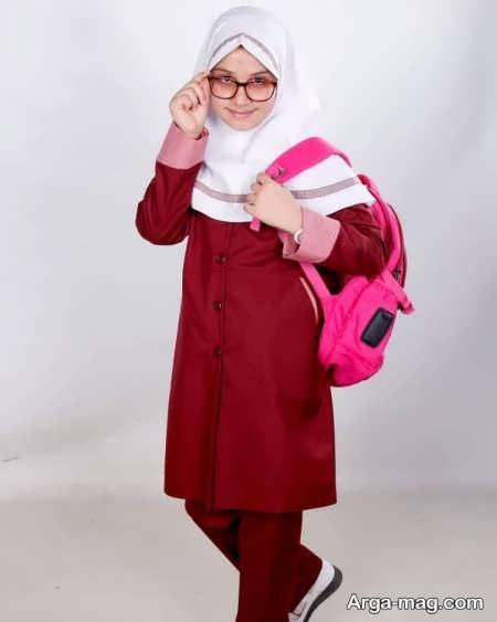 School uniforms model 12 - طرح های زیبا و شیک برای مدل مانتو فرم مدارس