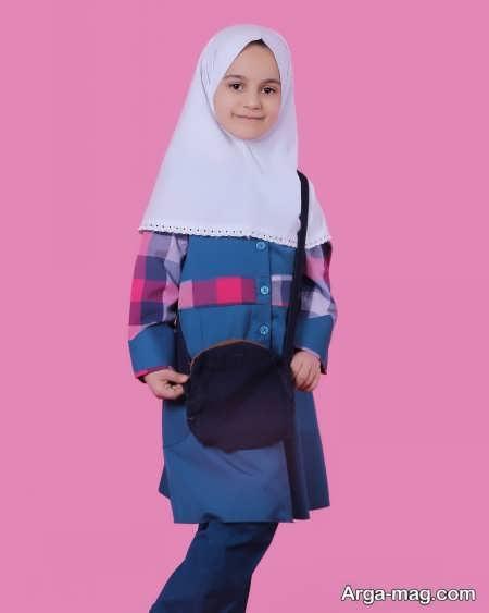 School uniforms model 19 - طرح های زیبا و شیک برای مدل مانتو فرم مدارس