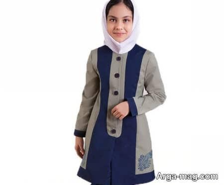 School uniforms model 4 - طرح های زیبا و شیک برای مدل مانتو فرم مدارس