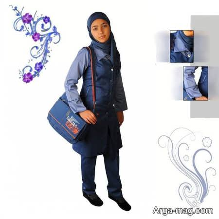 School uniforms model 6 - طرح های زیبا و شیک برای مدل مانتو فرم مدارس