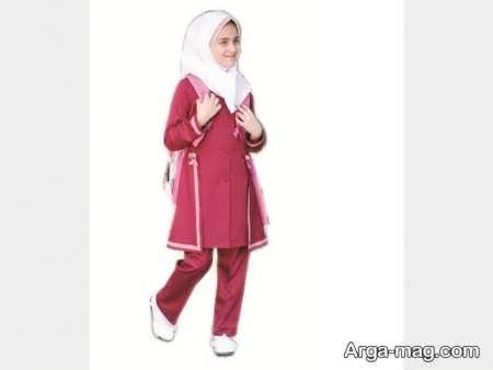 School uniforms model 9 - طرح های زیبا و شیک برای مدل مانتو فرم مدارس