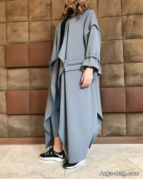 kasual manto model 4 - ۲۱ طرح جدید، شیک و جذاب مدل مانتو کژوال