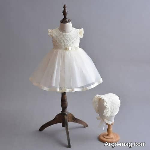 پیراهن عروس کوتاه بچه گانه
