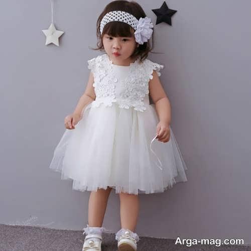 لباس عروس کوتاه برای کودک