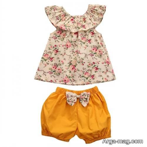Childrens summer dress model 1 - طرح های شیک و با نمک مدل لباس تابستانه بچه گانه