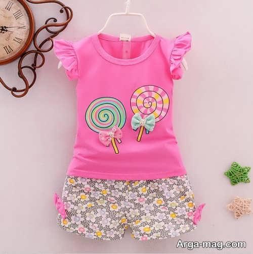 Childrens summer dress model 12 - طرح های شیک و با نمک مدل لباس تابستانه بچه گانه