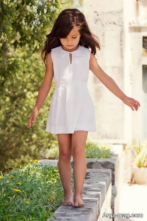 Childrens summer dress model 19 - طرح های شیک و با نمک مدل لباس تابستانه بچه گانه