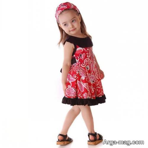 Childrens summer dress model 2 - طرح های شیک و با نمک مدل لباس تابستانه بچه گانه
