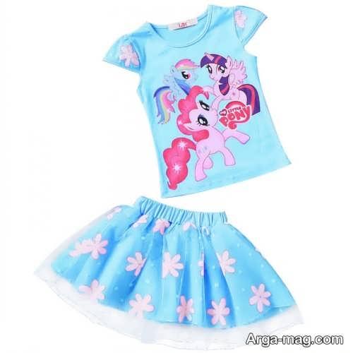 Childrens summer dress model 24 - طرح های شیک و با نمک مدل لباس تابستانه بچه گانه