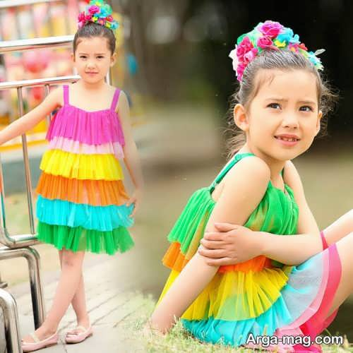 Childrens summer dress model 26 - طرح های شیک و با نمک مدل لباس تابستانه بچه گانه