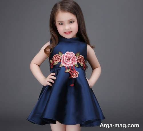 Childrens summer dress model 29 - طرح های شیک و با نمک مدل لباس تابستانه بچه گانه