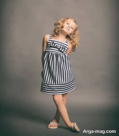 Childrens summer dress model 3 - طرح های شیک و با نمک مدل لباس تابستانه بچه گانه