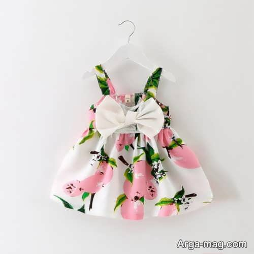 Childrens summer dress model 33 - طرح های شیک و با نمک مدل لباس تابستانه بچه گانه