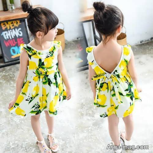 Childrens summer dress model 8 - طرح های شیک و با نمک مدل لباس تابستانه بچه گانه