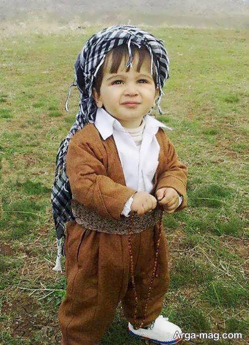 Kurdish Kidney Model 1 - مدل لباس کردی بچه گانه با طرح های زیبا و دوست داشتنی