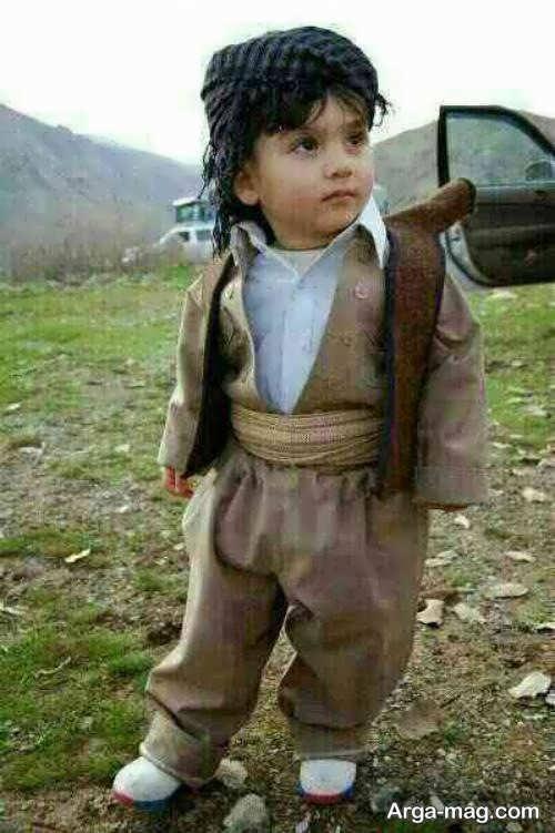 Kurdish Kidney Model 4 - مدل لباس کردی بچه گانه با طرح های زیبا و دوست داشتنی