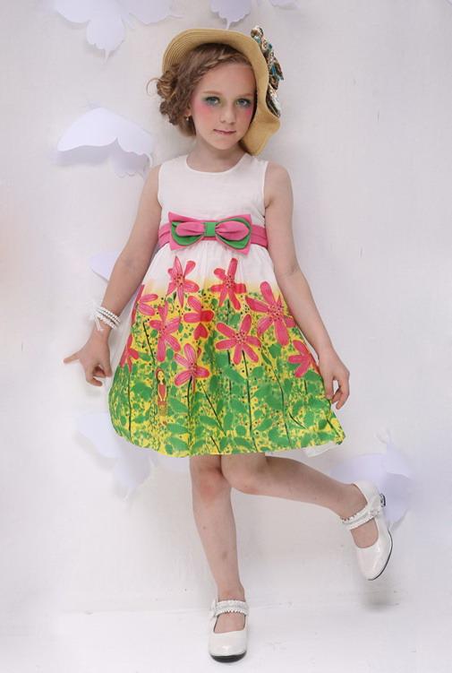 10276 - مدل های زیبا و شیک پیراهن مجلسی دخترانه