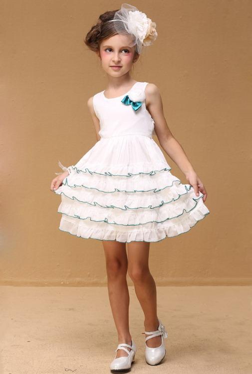 11041 - مدل های زیبا و شیک پیراهن مجلسی دخترانه