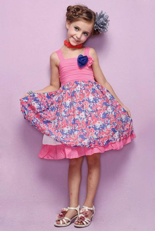 11311 - مدل های زیبا و شیک پیراهن مجلسی دخترانه