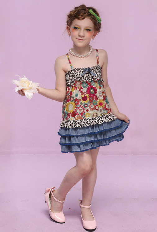 12290 - مدل های زیبا و شیک پیراهن مجلسی دخترانه