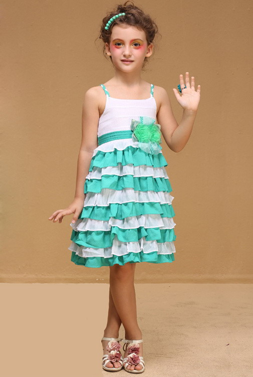 13270 - مدل های زیبا و شیک پیراهن مجلسی دخترانه