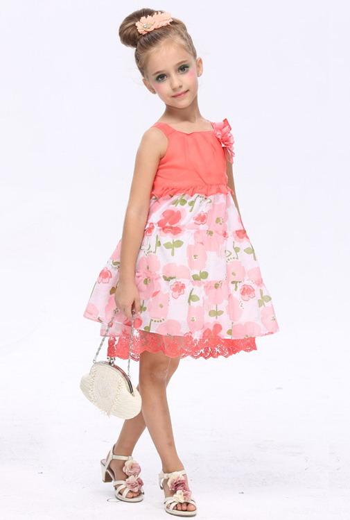 14241 - مدل های زیبا و شیک پیراهن مجلسی دخترانه