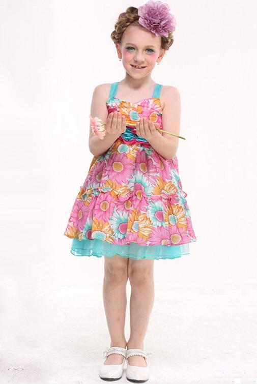 15226 - مدل های زیبا و شیک پیراهن مجلسی دخترانه
