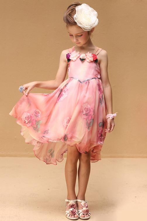 3495 - مدل های زیبا و شیک پیراهن مجلسی دخترانه