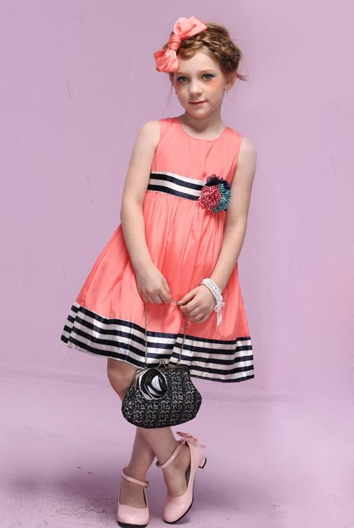 5345 - مدل های زیبا و شیک پیراهن مجلسی دخترانه