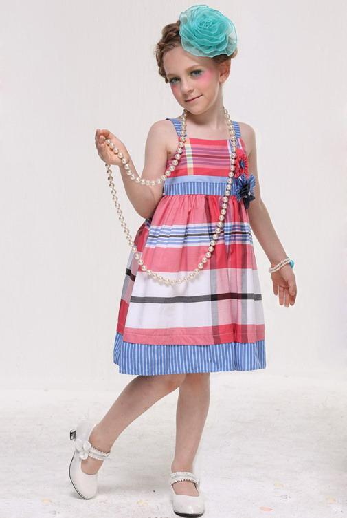 7306 - مدل های زیبا و شیک پیراهن مجلسی دخترانه