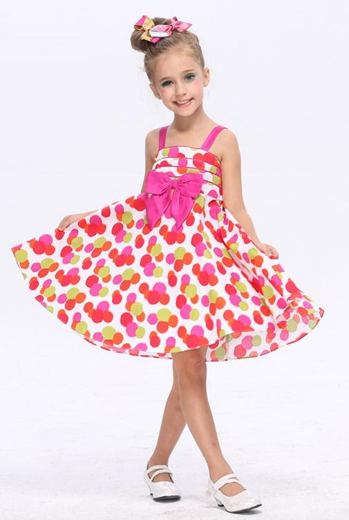 8295 - مدل های زیبا و شیک پیراهن مجلسی دخترانه