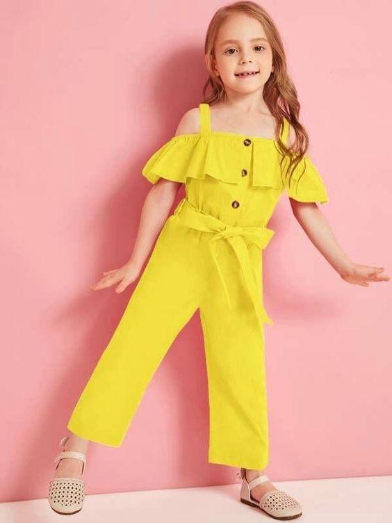 Girl Jumpsuit 12 - مدل های جدید و زیبای بیلرسوت دخترانه تابستانی (رامپر – سرهمی)