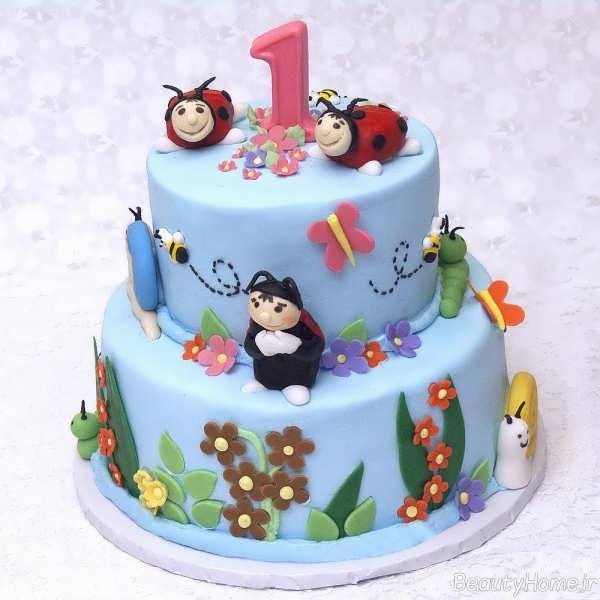 تزیین کیک تولد یک سالگی