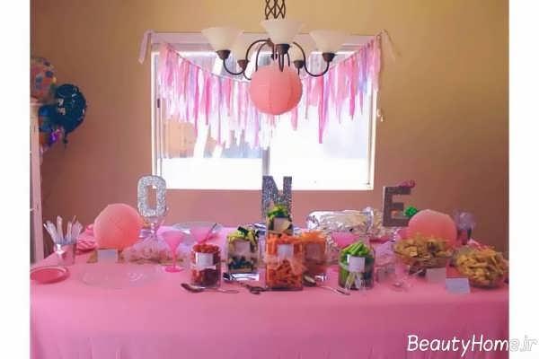 ایده هایی برای تزیین جشن تولد یک سالگی