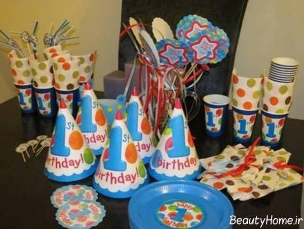 تزیین میز تولد یک سالگی