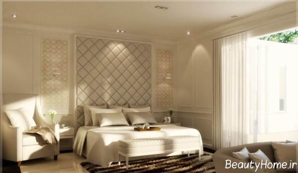نورپردازی اتاق خواب تلفیقی