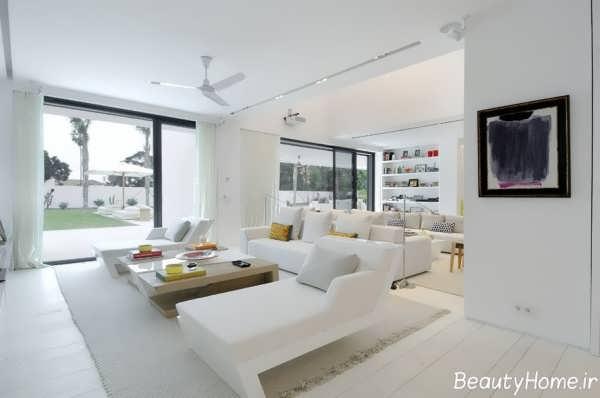 دکوراسیون سفید برای خانه های مدرن و زیبا