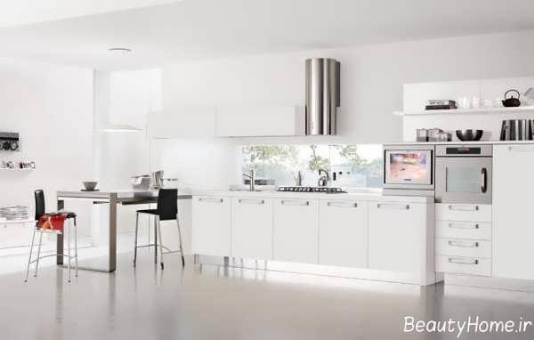 انواع طراحی های مدرن برای منزل سفید