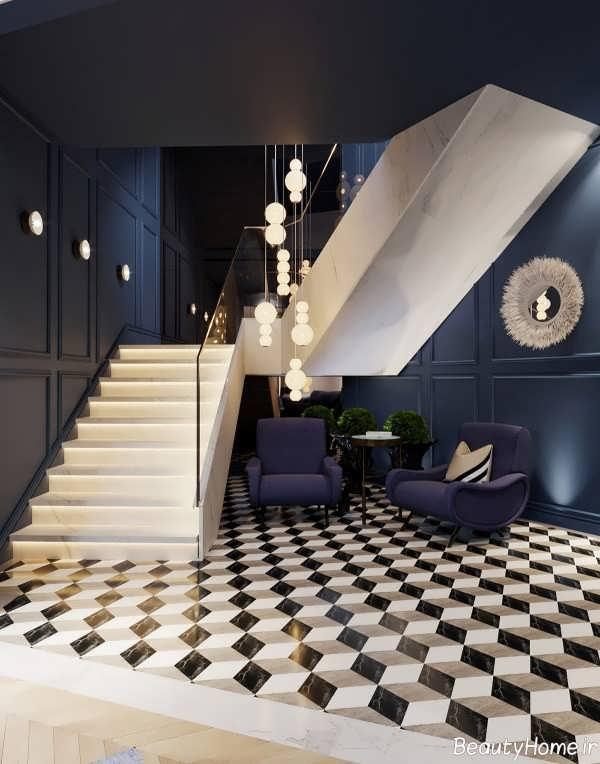 دکوراسیون خانه آپارتمانی شیک و زیبا