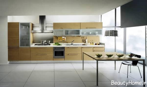 طراحی مدرن برای آشپزخانه های بدون اپن