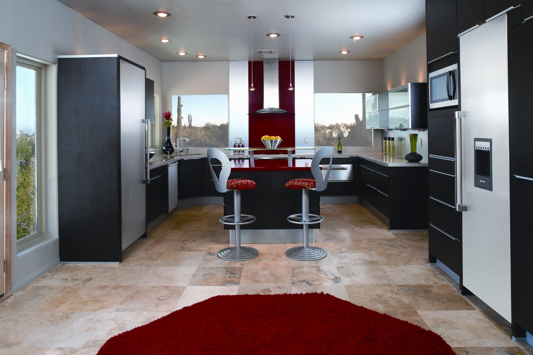 طراحی دکوراسیون آشپزخانه بدون اپن