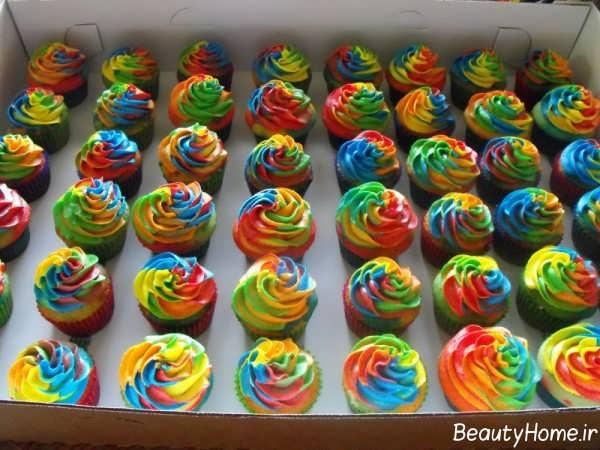 تزیین زیبا و فانتزی کاپ کیک تولد