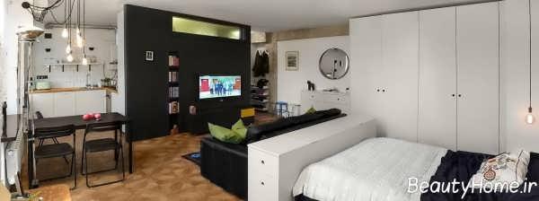 طراحی زیبا و شیک خانه کوچک