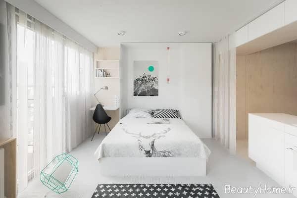 دکوراسیون خانه آپارتمانی شیک و کوچک
